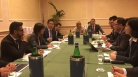 Incontro con delegazione governativa cinese, all'Italy-China economic Cooperation and Trade Forum.